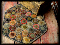 Early Style Penny Rugs Matilda Rug